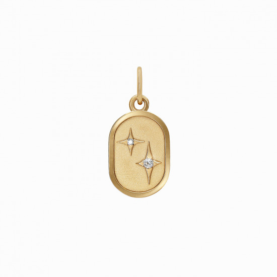 Star Medallion for Necklace