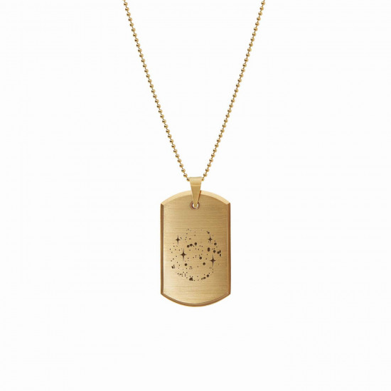 Stars Tag Necklace